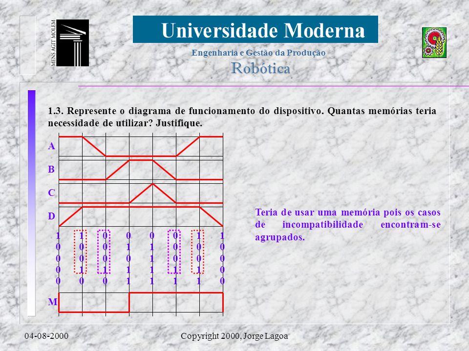 1. 3. Represente o diagrama de funcionamento do dispositivo