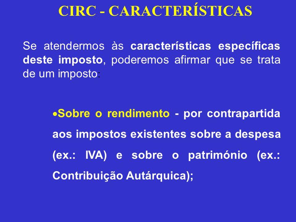 CIRC - CARACTERÍSTICAS