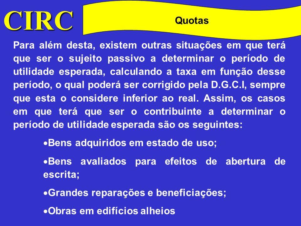 CIRC Quotas.