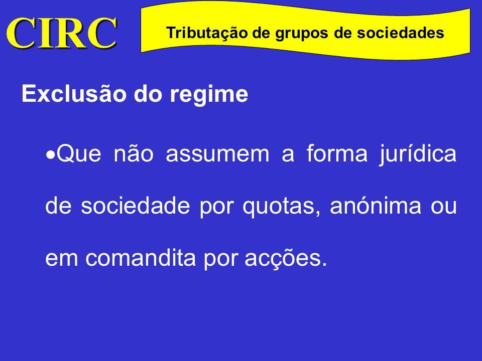 Tributação de grupos de sociedades