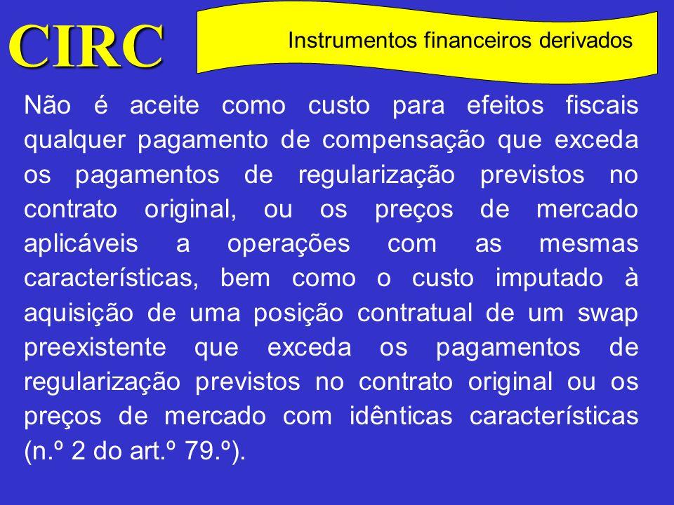 Instrumentos financeiros derivados