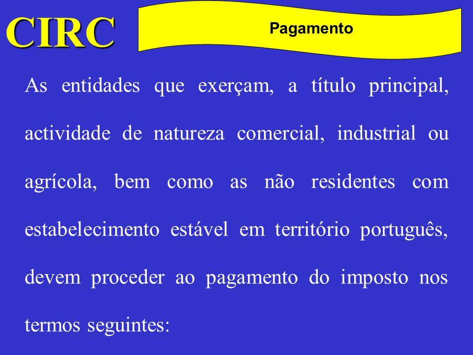 CIRC C. Pagamento.
