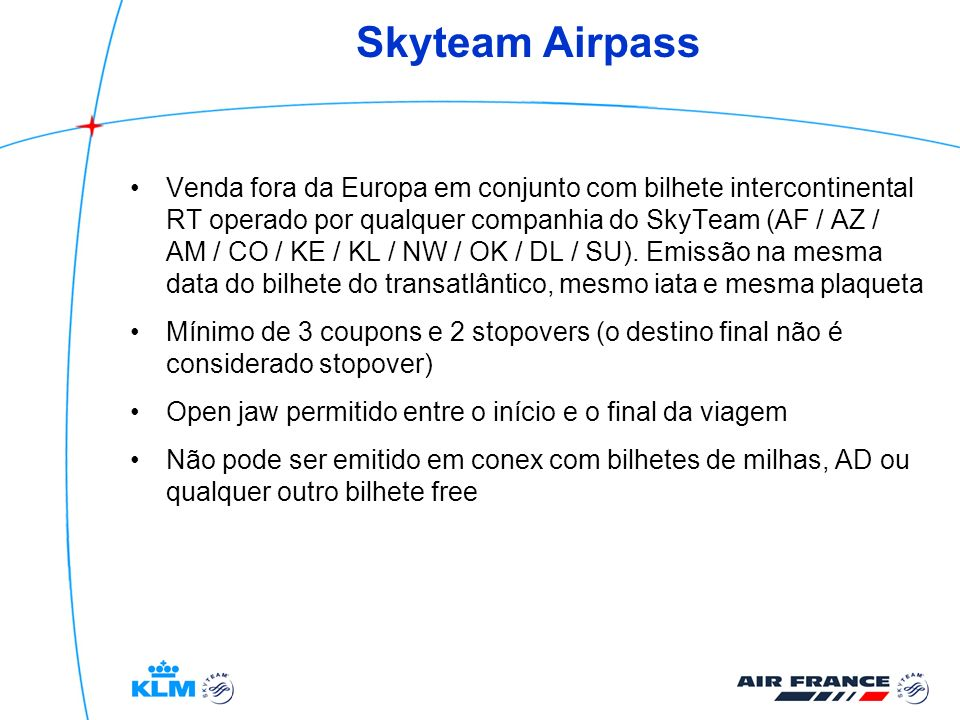 Skyteam Airpass