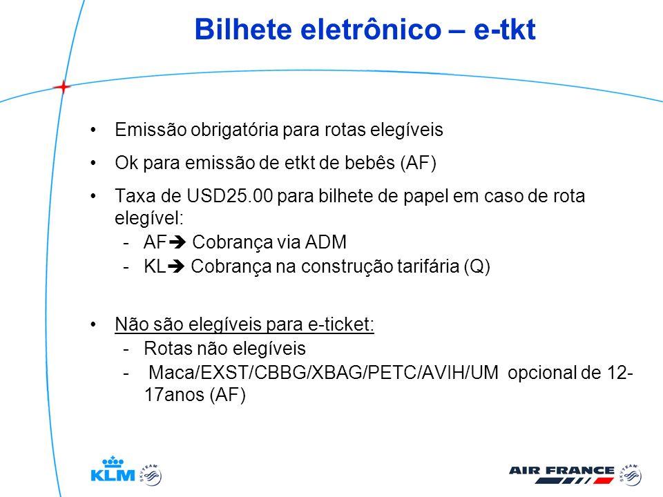 Bilhete eletrônico – e-tkt