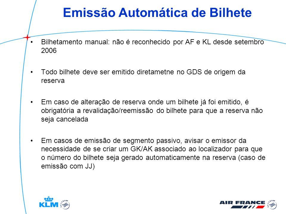 Emissão Automática de Bilhete