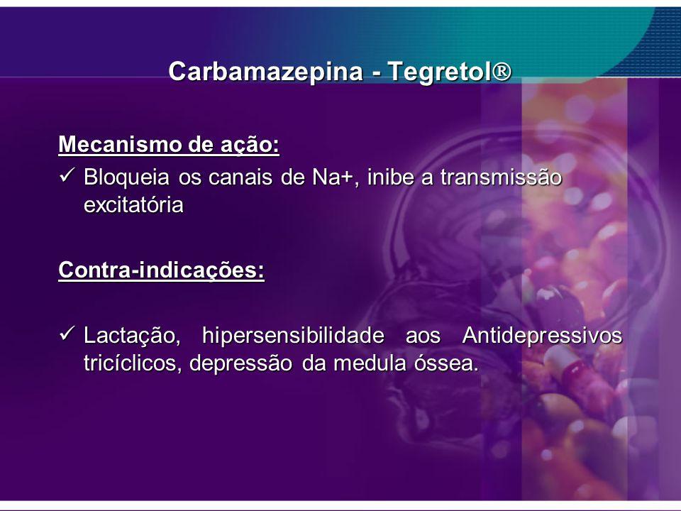 Carbamazepina - Tegretol