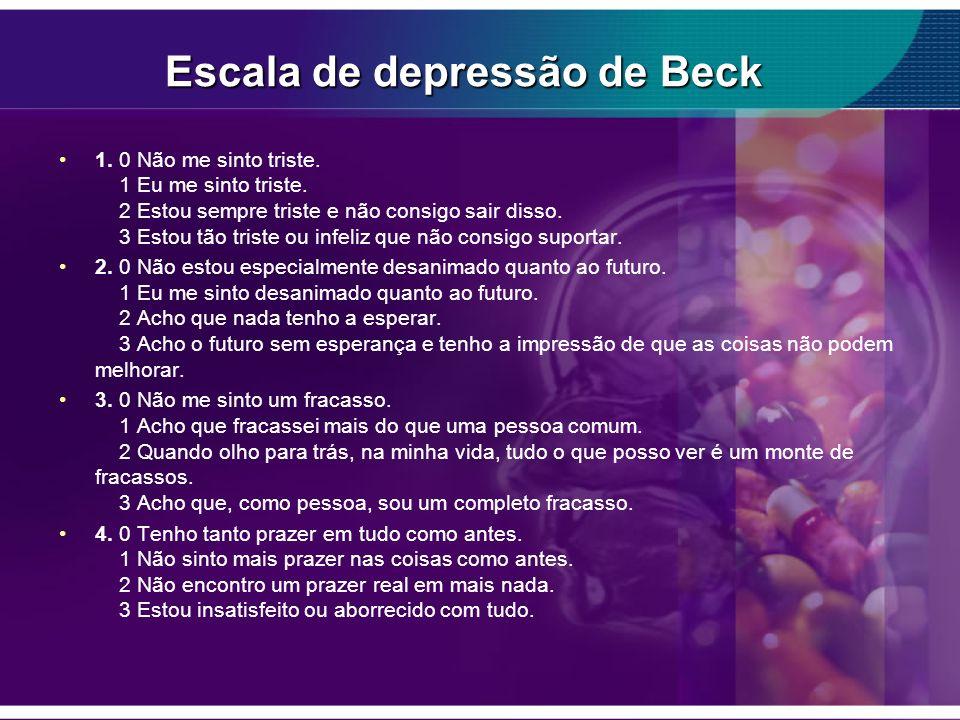 Escala de depressão de Beck