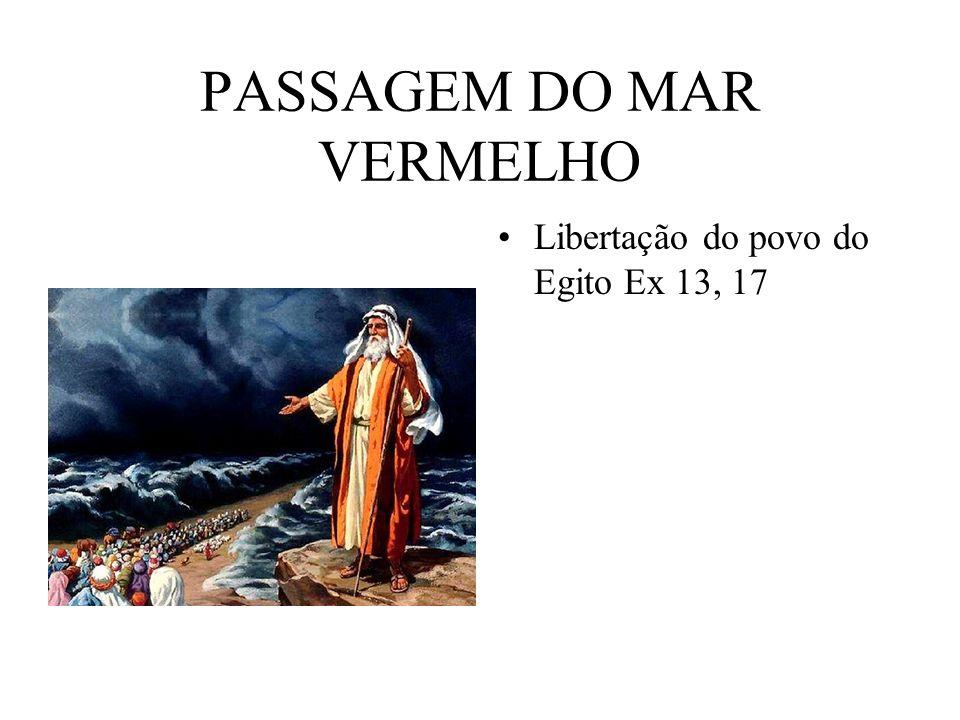 PASSAGEM DO MAR VERMELHO
