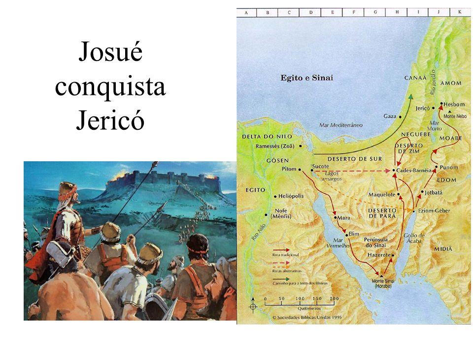 Josué conquista Jericó