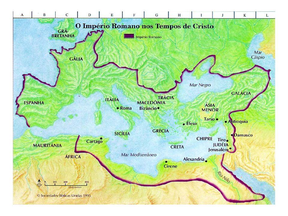 IMPÉRIO ROMANO – 63 aC