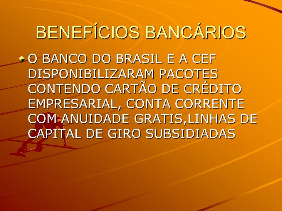 BENEFÍCIOS BANCÁRIOS