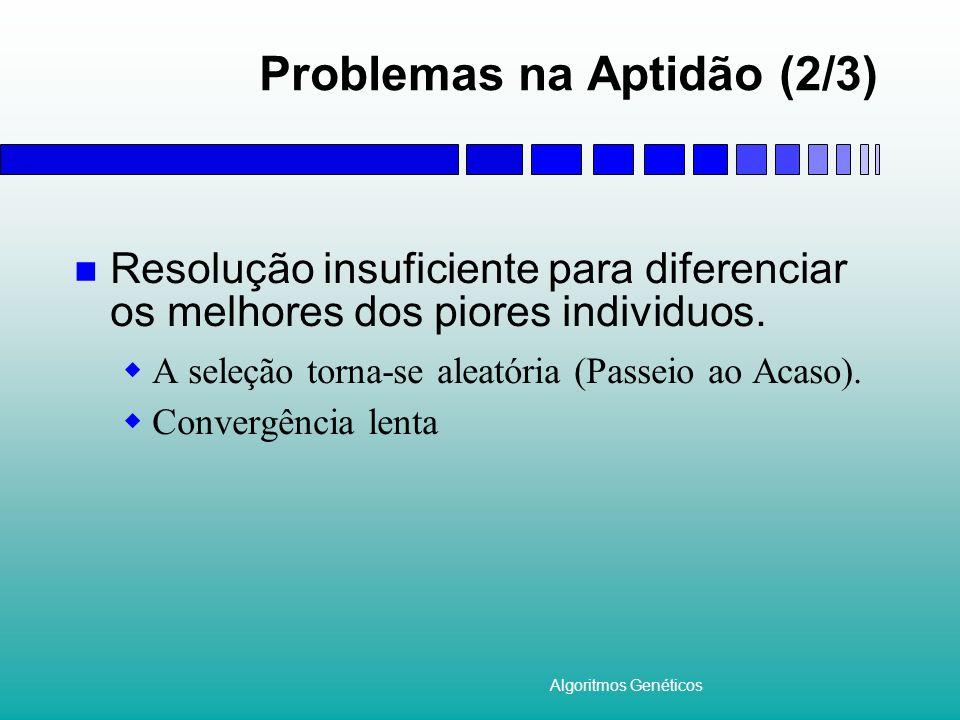 Problemas na Aptidão (2/3)