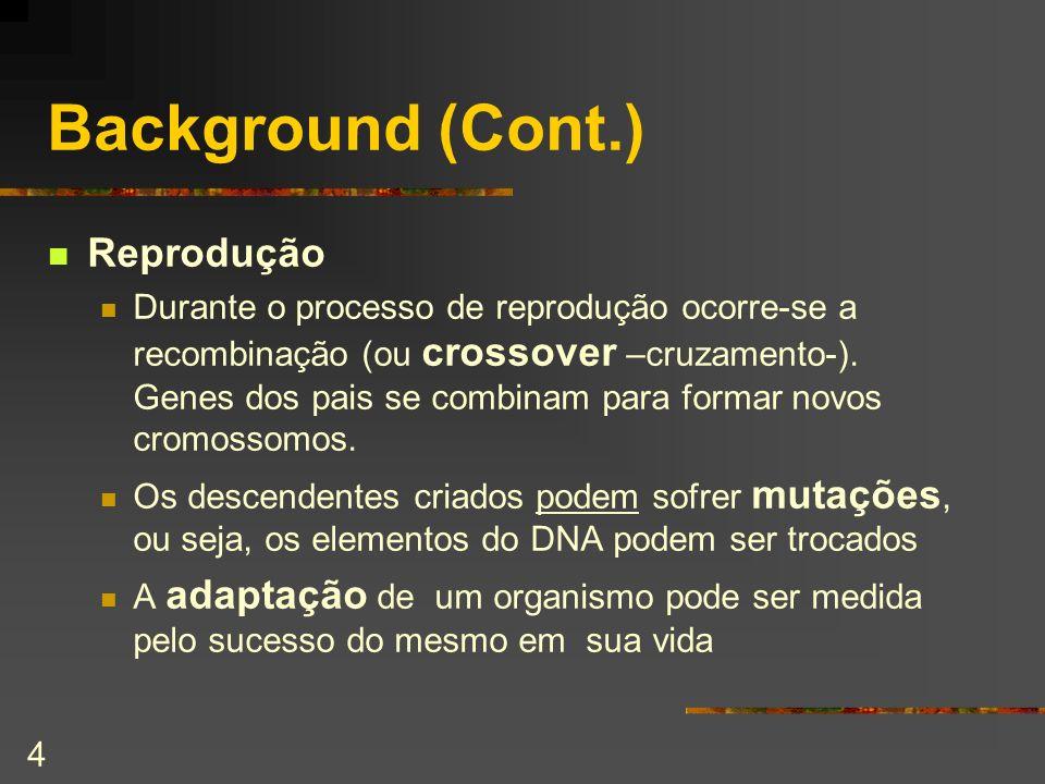 Background (Cont.) Reprodução