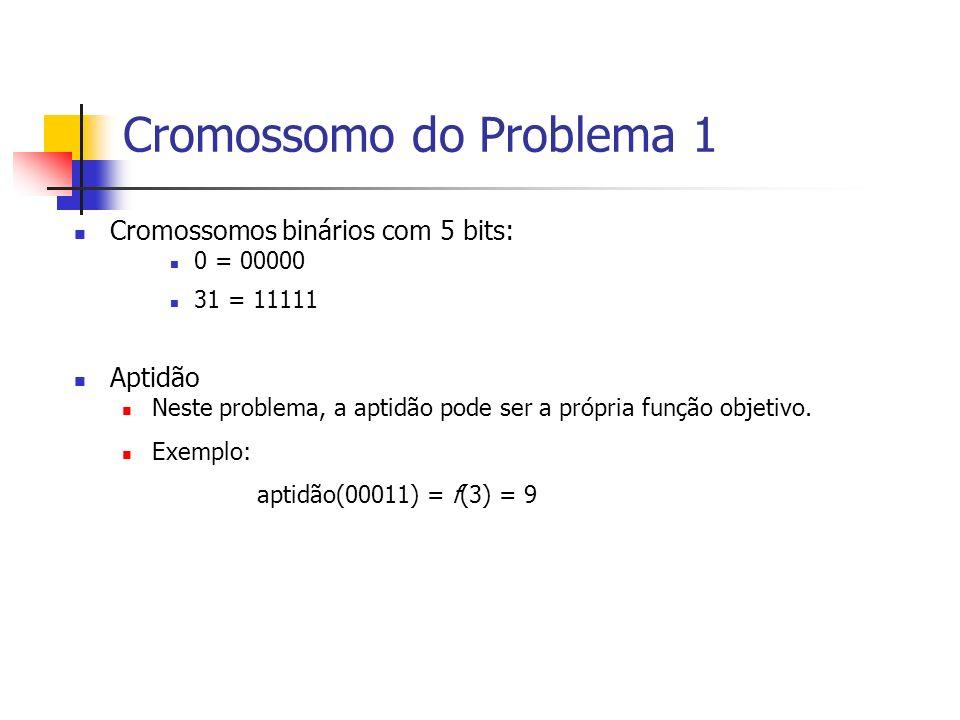 Cromossomo do Problema 1