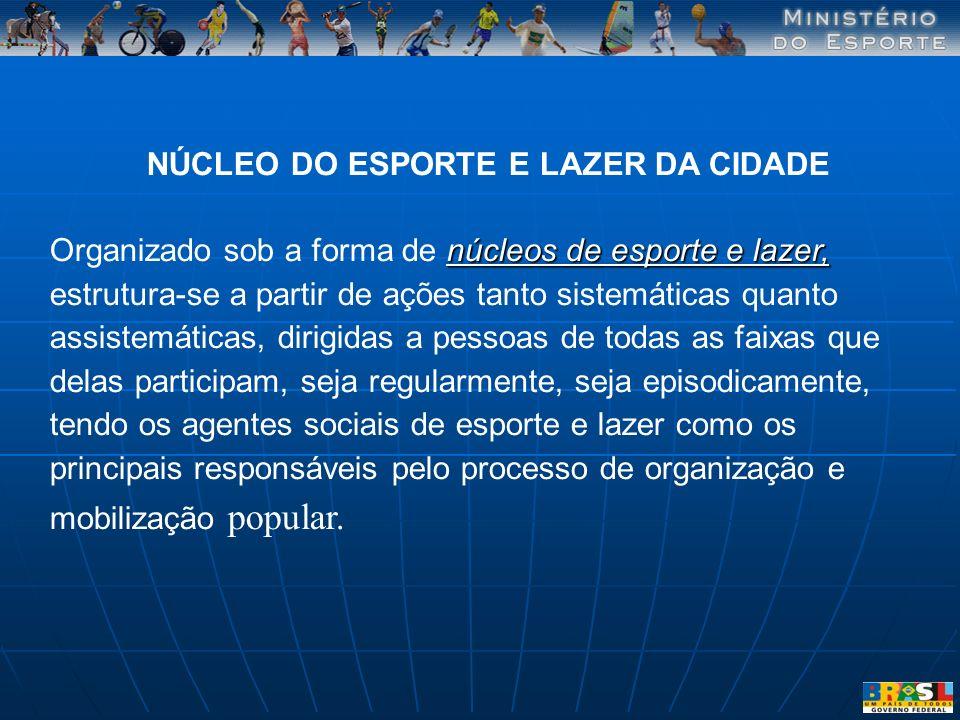 NÚCLEO DO ESPORTE E LAZER DA CIDADE