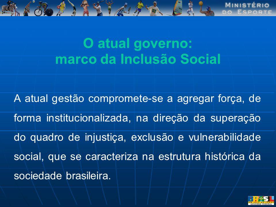 marco da Inclusão Social