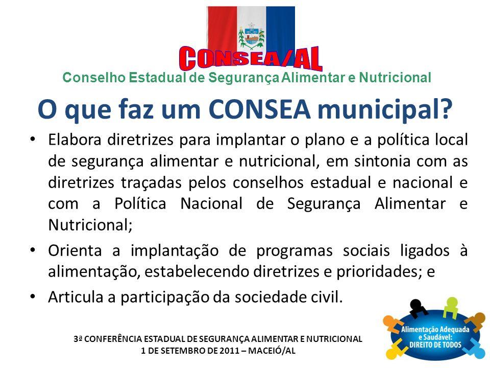 O que faz um CONSEA municipal