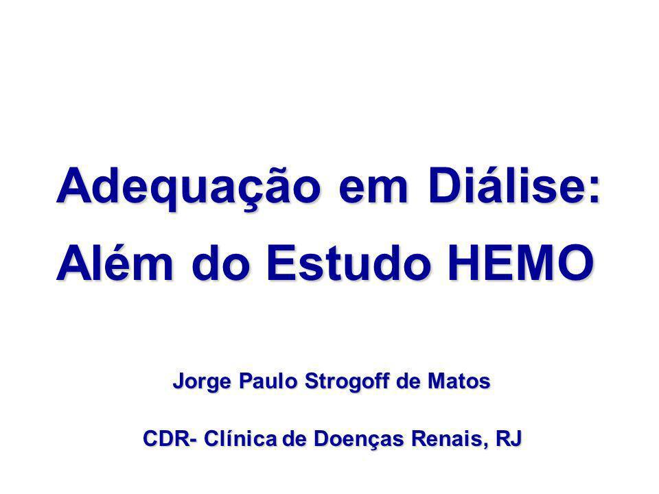 Jorge Paulo Strogoff de Matos CDR- Clínica de Doenças Renais, RJ