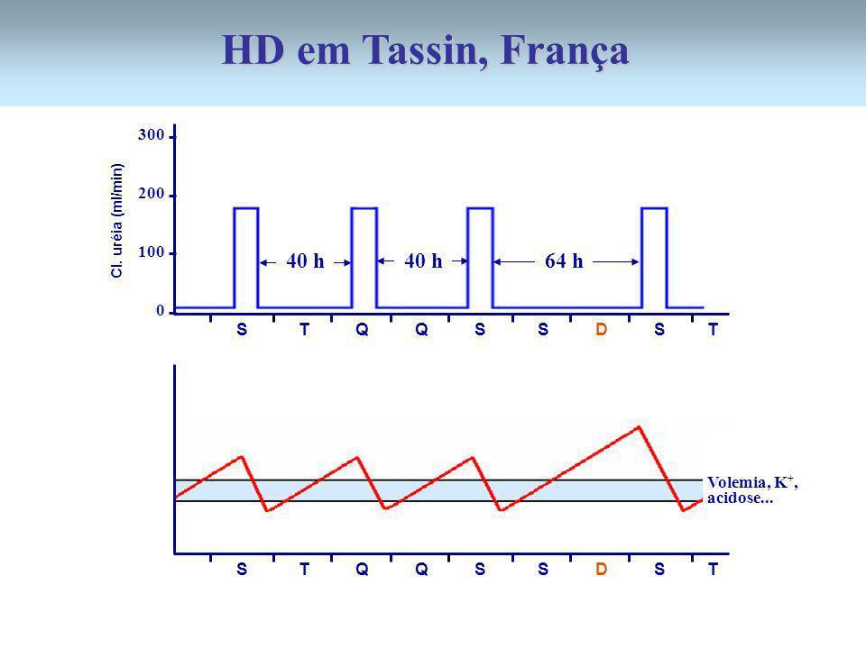 HD em Tassin, França 40 h 40 h 64 h 300 200 100 S T Q Q S S D S T