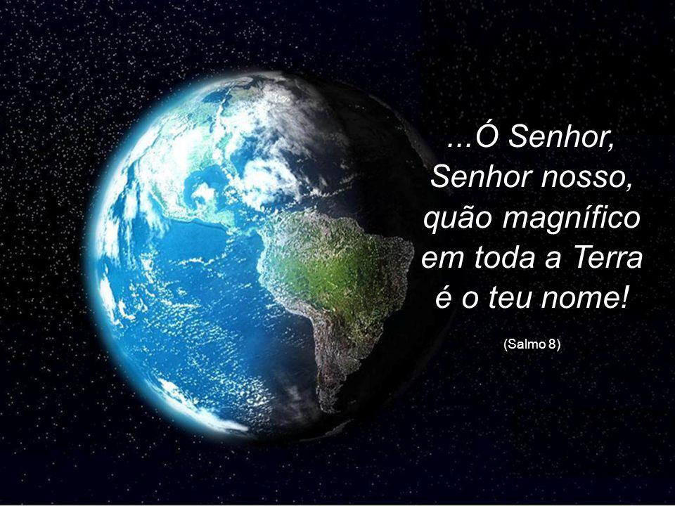...Ó Senhor, Senhor nosso, quão magnífico em toda a Terra é o teu nome!