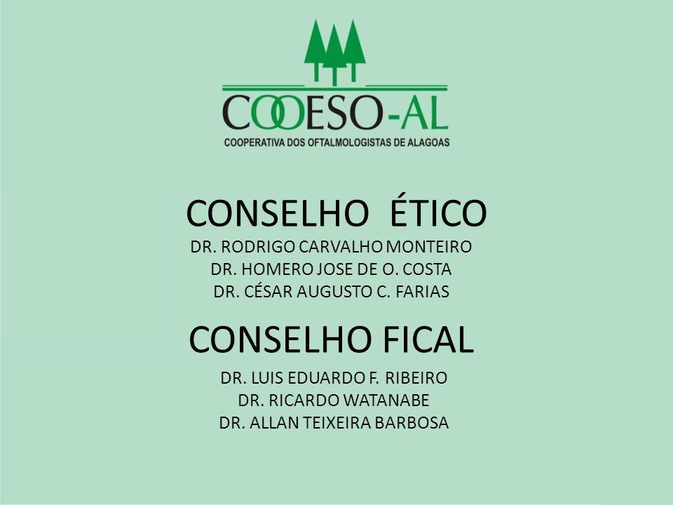 CONSELHO ÉTICO CONSELHO FICAL DR. RODRIGO CARVALHO MONTEIRO