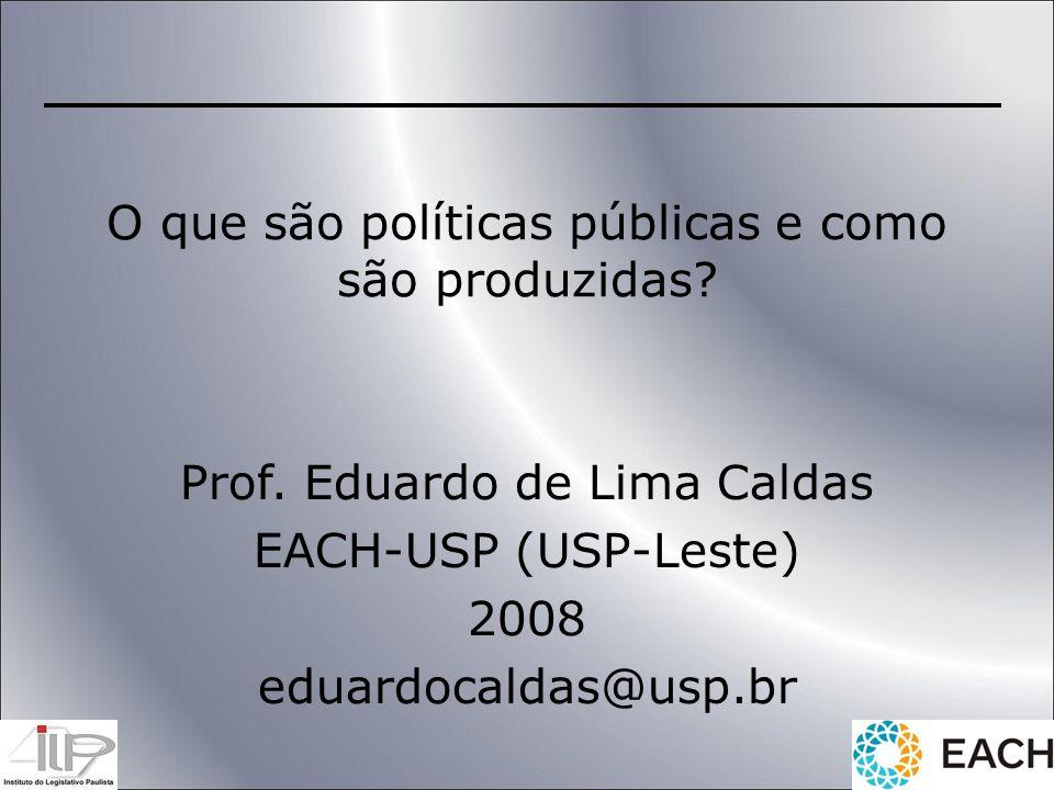O que são políticas públicas e como são produzidas