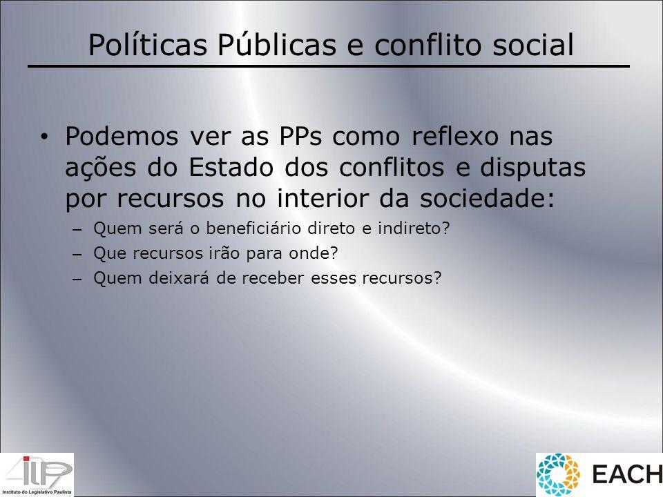 Políticas Públicas e conflito social