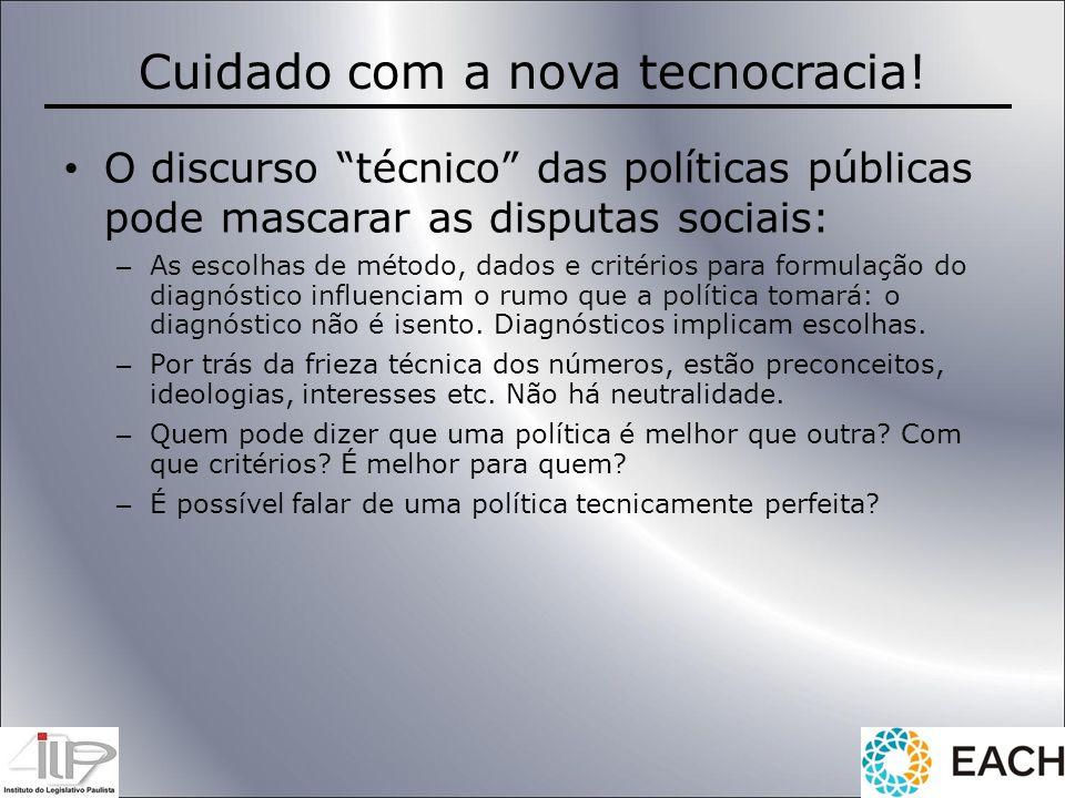 Cuidado com a nova tecnocracia!