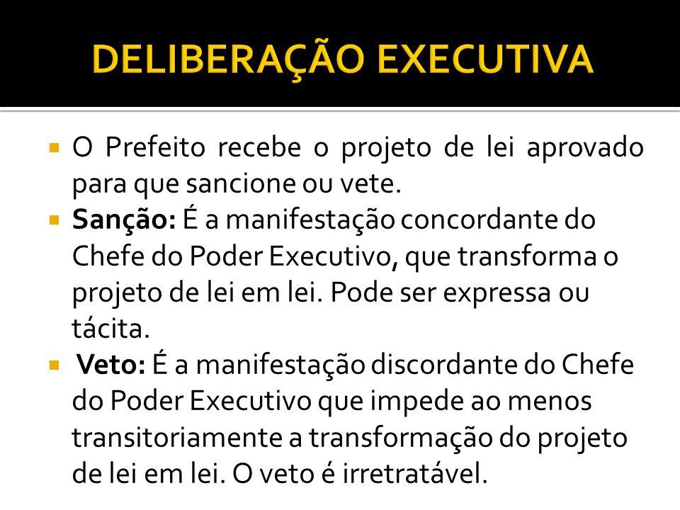 DELIBERAÇÃO EXECUTIVA