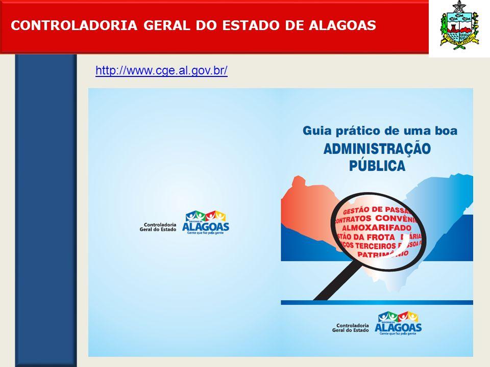 CONTROLADORIA GERAL DO ESTADO DE ALAGOAS