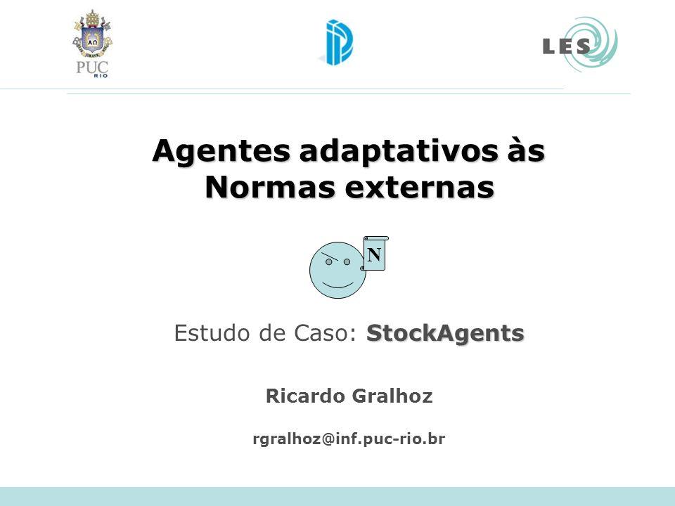 Agentes adaptativos às Normas externas