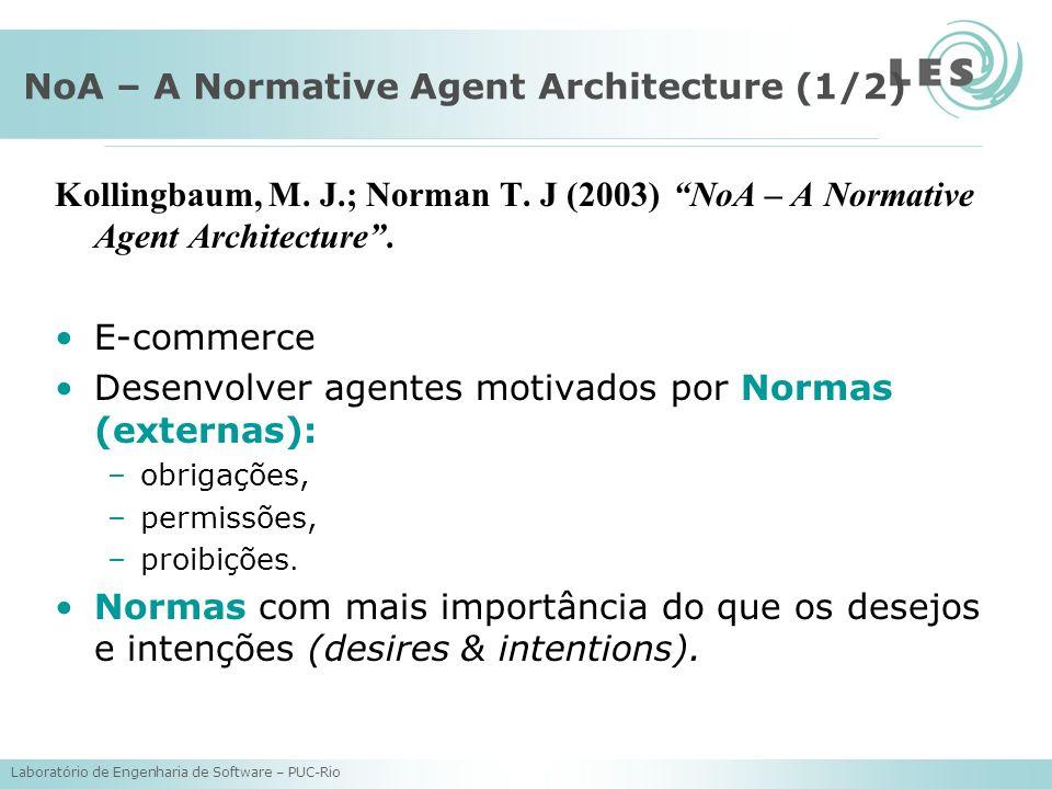 NoA – A Normative Agent Architecture (1/2)