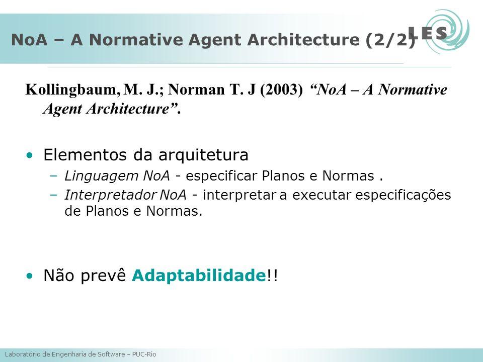 NoA – A Normative Agent Architecture (2/2)