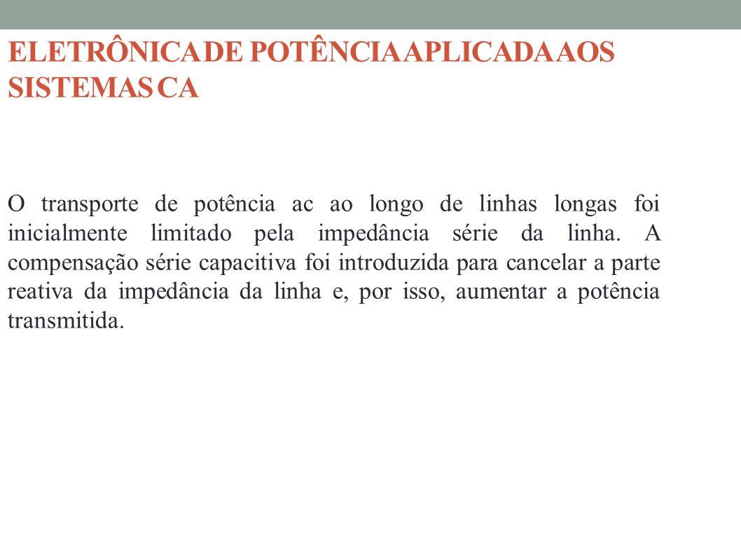 ELETRÔNICA DE POTÊNCIA APLICADA AOS SISTEMAS CA