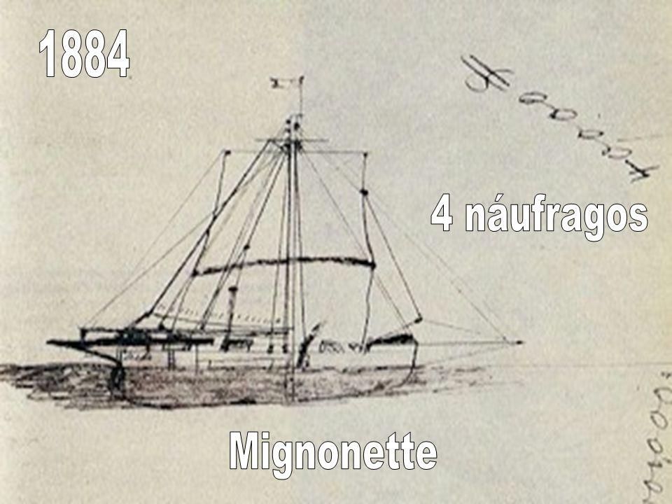 1884 4 náufragos Mignonette