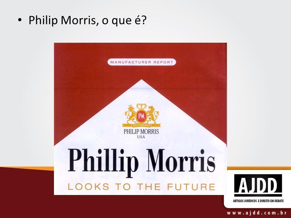 Philip Morris, o que é