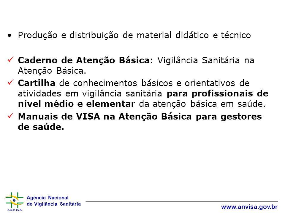 Produção e distribuição de material didático e técnico