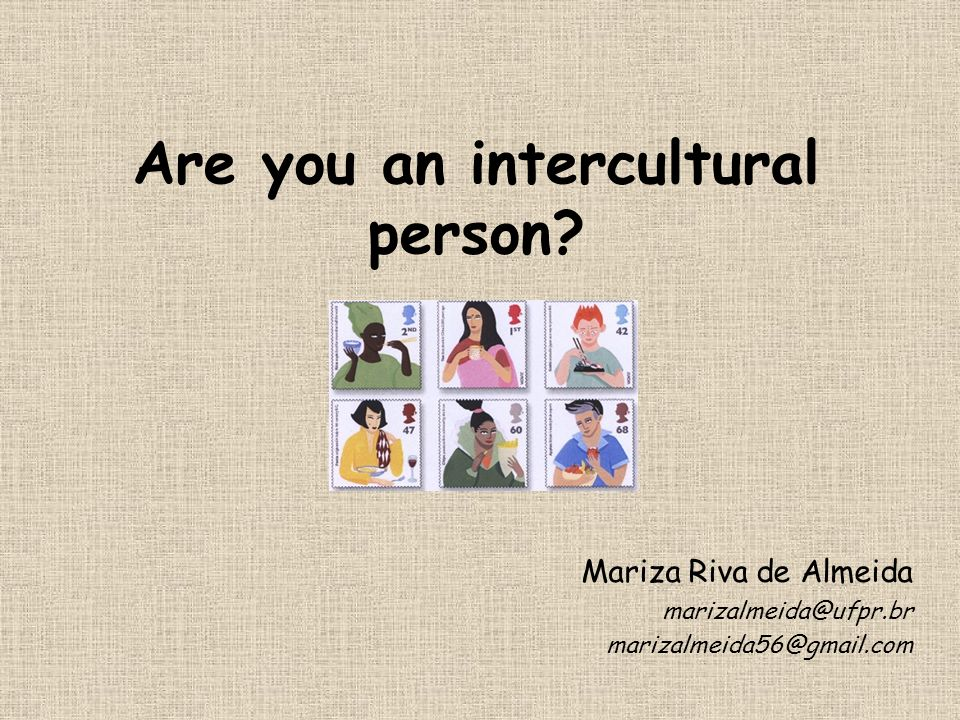 Are you an intercultural person