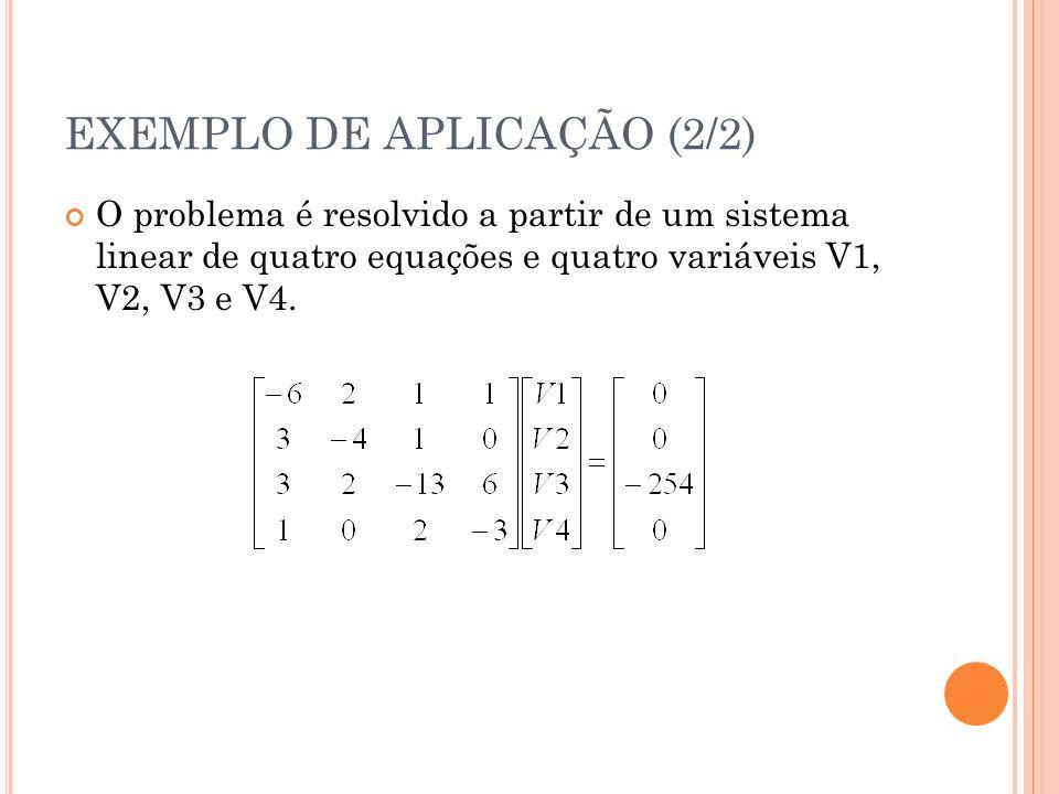 EXEMPLO DE APLICAÇÃO (2/2)