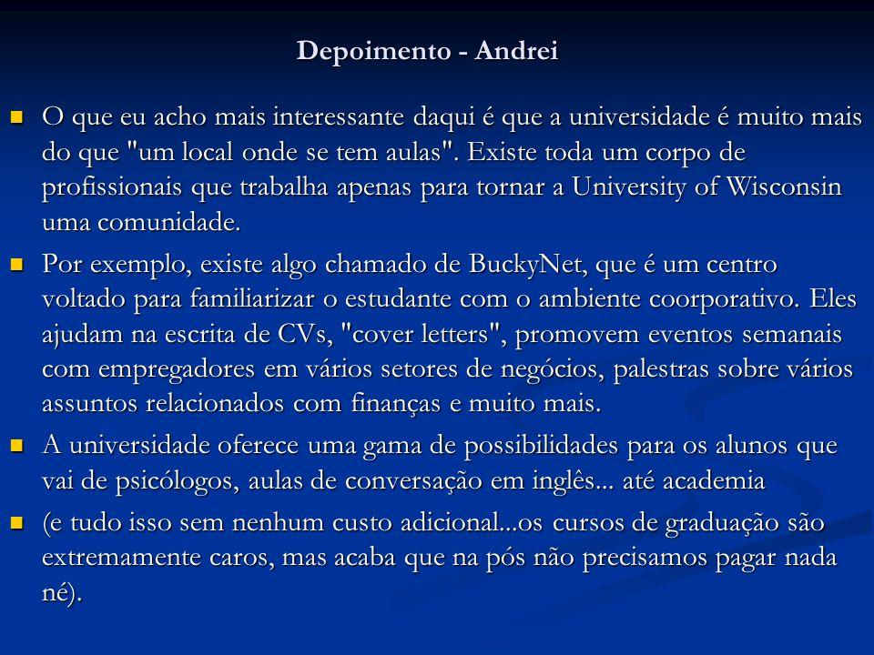 Depoimento - Andrei