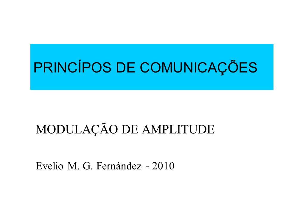 PRINCÍPOS DE COMUNICAÇÕES