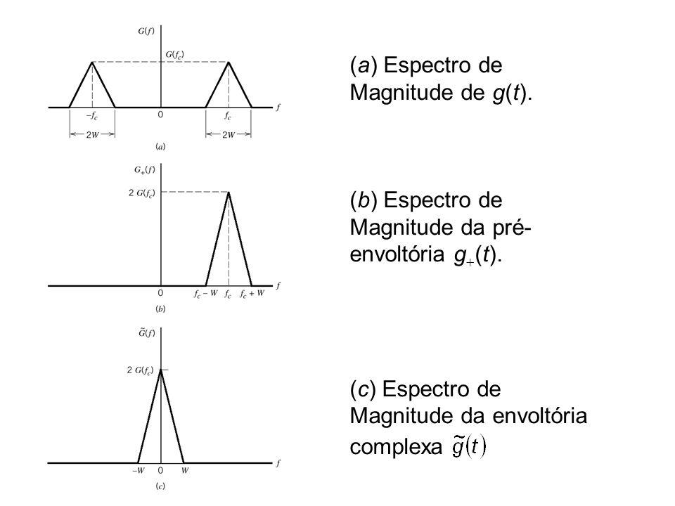 (a) Espectro de Magnitude de g(t)