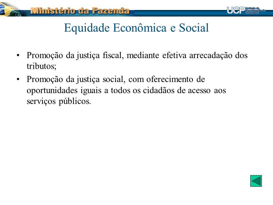 Equidade Econômica e Social