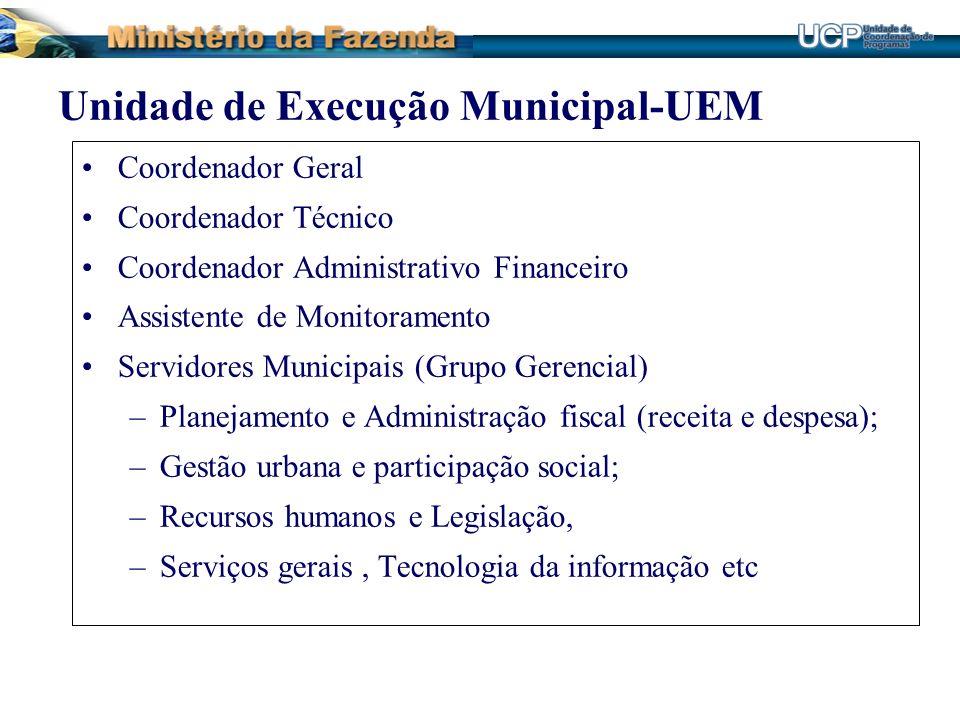 Unidade de Execução Municipal-UEM