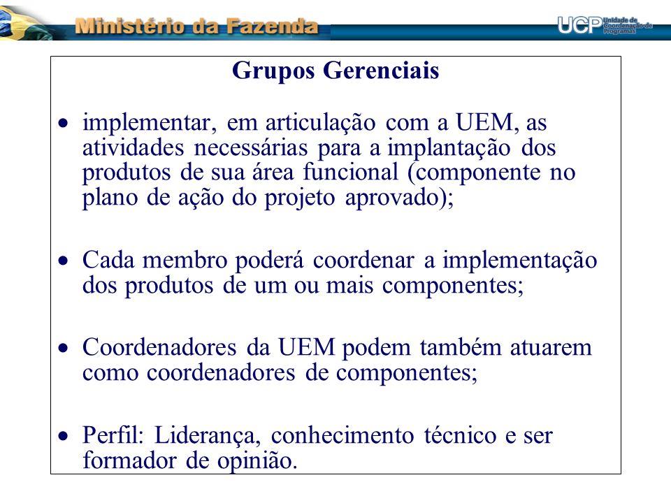 Grupos Gerenciais