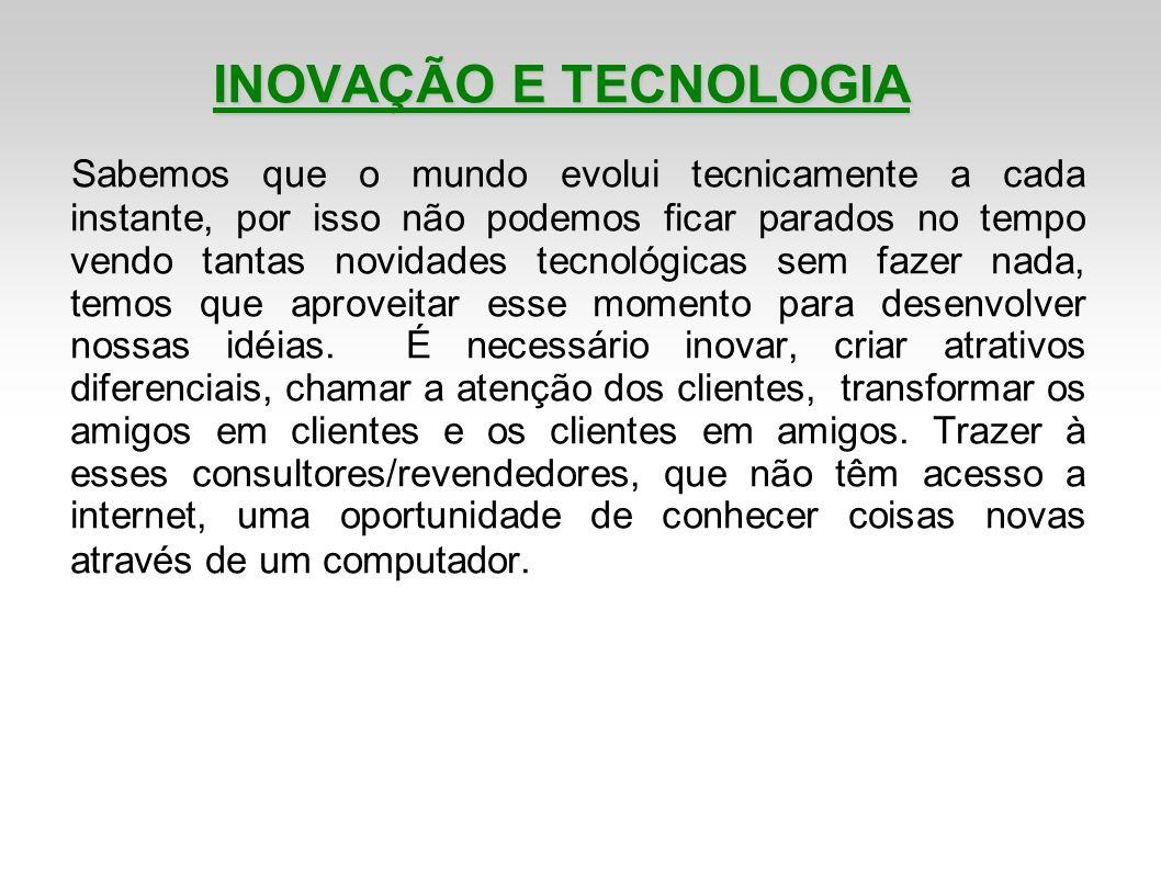 INOVAÇÃO E TECNOLOGIA