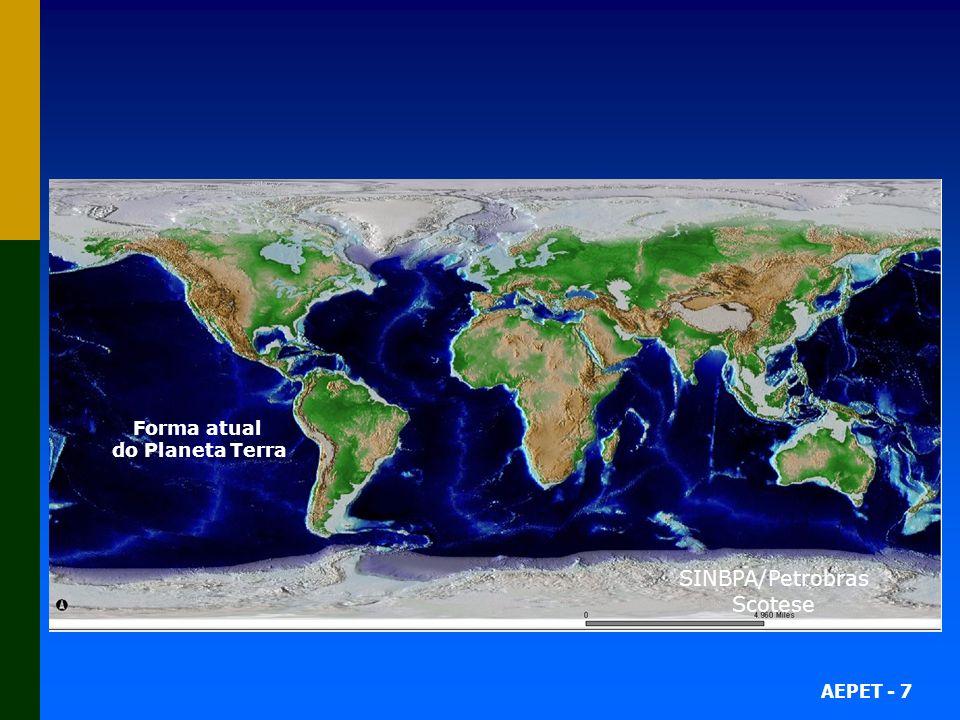 SINBPA/Petrobras Scotese 79 Milhões de anos atrás 49 Milhões