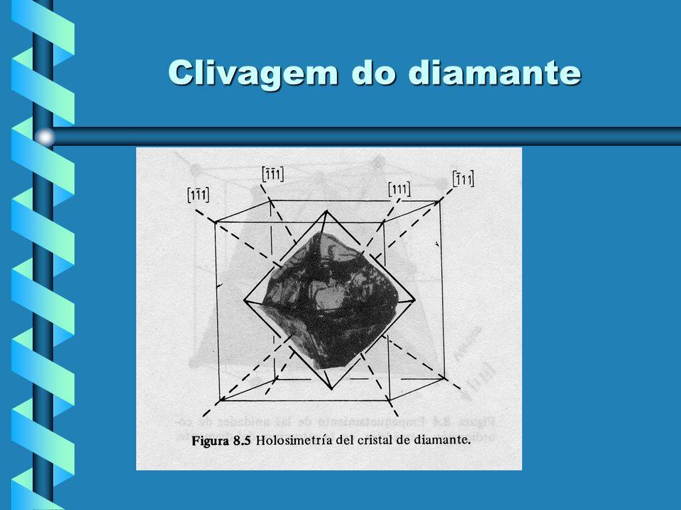 Clivagem do diamante