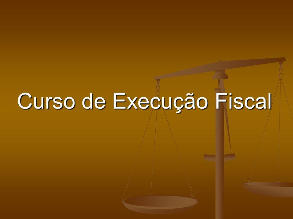 Curso de Execução Fiscal