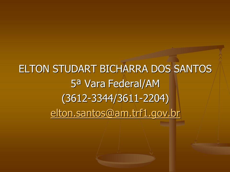 ELTON STUDART BICHARRA DOS SANTOS